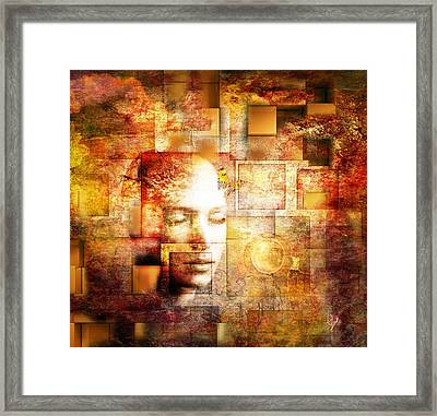 The Noise Within Framed Print by Jacky Gerritsen