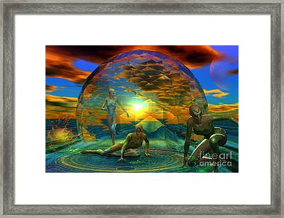 The Nomads Framed Print by Shadowlea Is