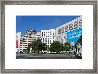 Framed Print featuring the photograph The Non-existing House by Art Photography