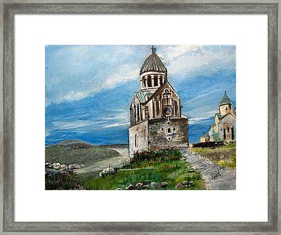 The Noravank Monastery Framed Print