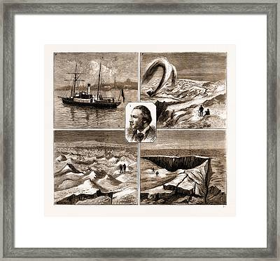 The Nordenskjold Greenland Expedition, 1883 1. The Sophia Framed Print