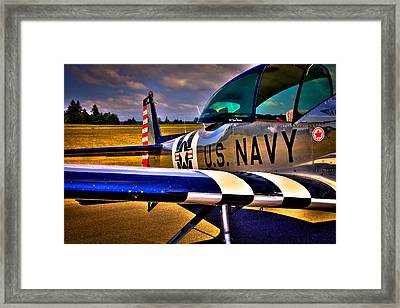 The North American L-17 Navion Aircraft Framed Print