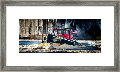 The North Dakota Framed Print by David Wynia