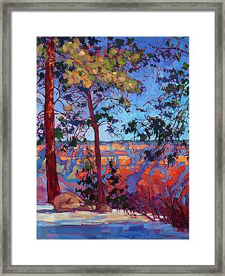 The North Rim Hexaptych - Panel 2 Framed Print