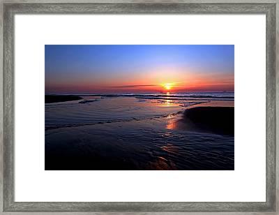 The North Sea Framed Print