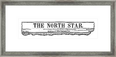 The North Star, 1847 Framed Print by Granger