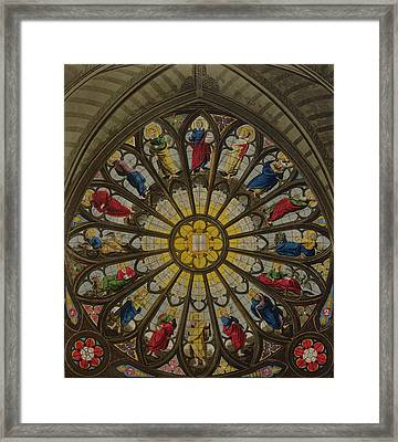 The North Window Framed Print by William Johnstone White