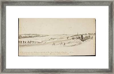 The Northamptonshire Landscape Framed Print by British Library