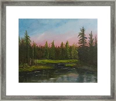 The Northeast Framed Print by Sharon Schultz