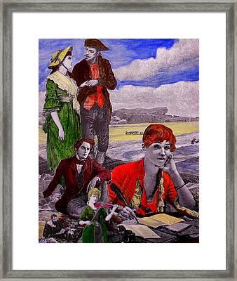 The Novelist II Framed Print by Patrick Lynch
