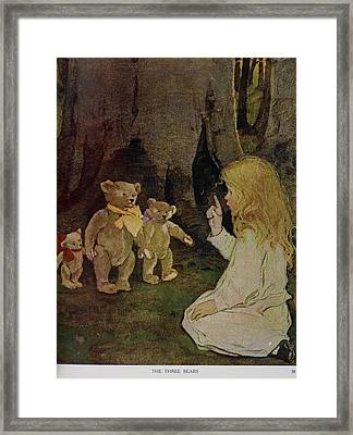 The Now-a-days Fairy Book Framed Print