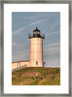 The Nubble Framed Print by At Lands End Photography
