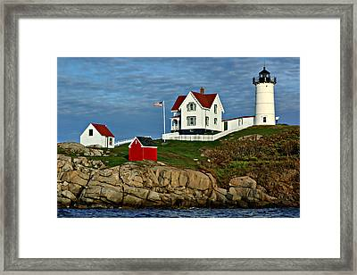 The Nubble Framed Print by Nikolyn McDonald