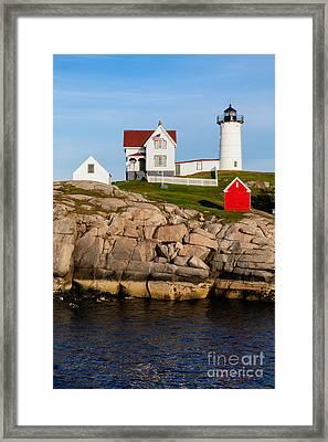 The Nubble York Maine Framed Print
