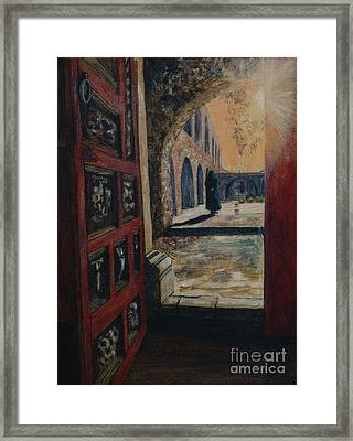 The Franciscan Framed Print