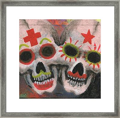 The Nurse And Me Framed Print by KD Neeley