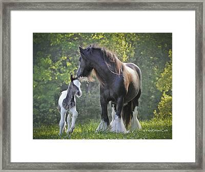 The Nurturing Mother Framed Print