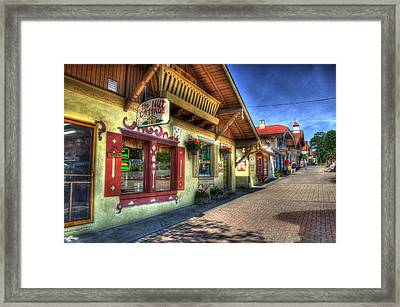 The Nut House Framed Print