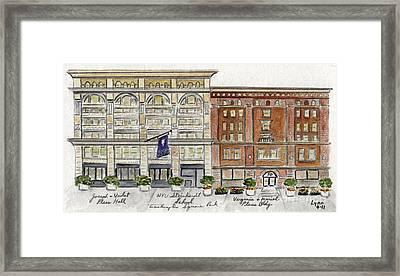 The Nyu Steinhardt Pless Building Framed Print