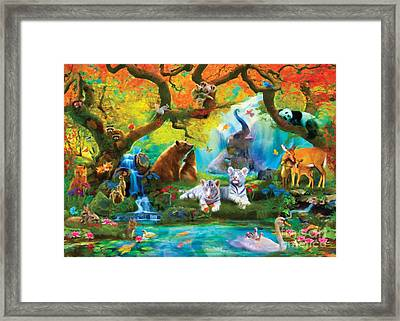 The Oasis Framed Print by Aimee Stewart