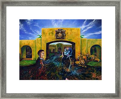 The Oath Framed Print by Kd Neeley