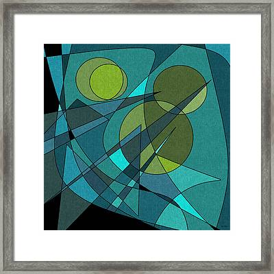 The Oboes Framed Print by Val Arie