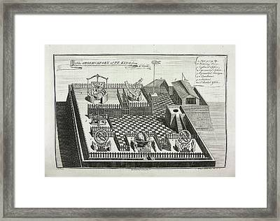 The Observatory At Peking Framed Print