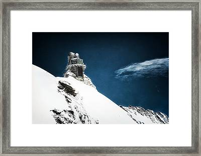 The Observatory Framed Print by Ryan Wyckoff