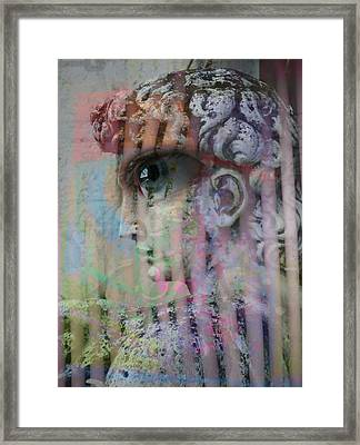The Observer Framed Print by Florin Birjoveanu