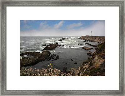 The Ocean's Call Framed Print by Laurie Search