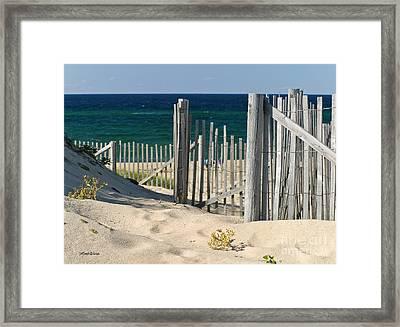 The Oceans Gate Framed Print