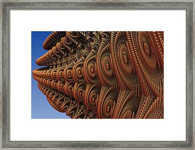 The Odd Beauty Of Fractals Framed Print by Lyle Hatch