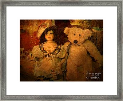 Framed Print featuring the photograph The Odd Couple ... by Chris Armytage