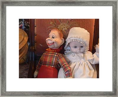 The Odd Couple Framed Print