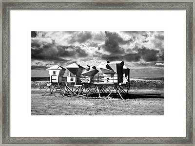 The Off Season Framed Print by Larry Butterworth