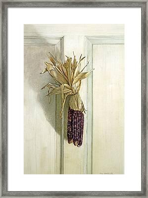 The Offering Framed Print by Tom Wooldridge