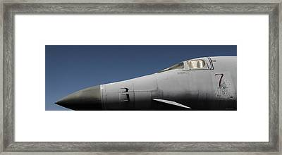 The Office - B-1b/cockpit/7 Wishes Framed Print