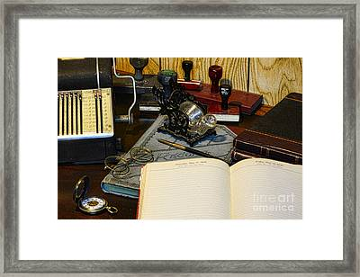 The Office - Human Resources Framed Print by Paul Ward