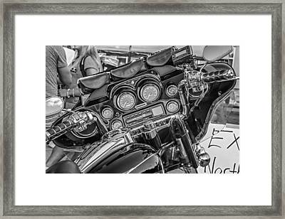 The Office Monochrome Framed Print by Steve Harrington