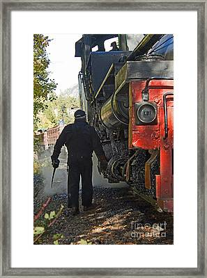 The Oil Can Framed Print
