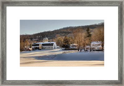 The Ol Homestead Framed Print by Bill Wakeley
