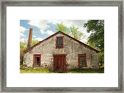 The Old Abandoned Mill Framed Print by Kristia Adams