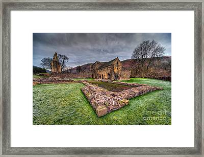 The Old Abbey Framed Print by Adrian Evans
