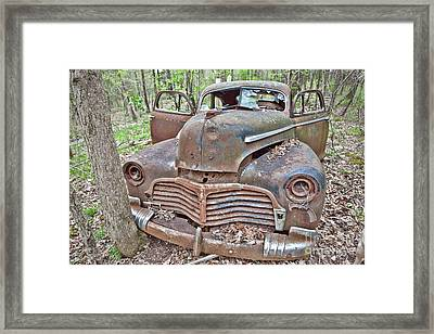 The Old Accident Framed Print