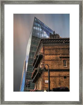 Framed Print featuring the photograph The Old And The New by Jim Hill