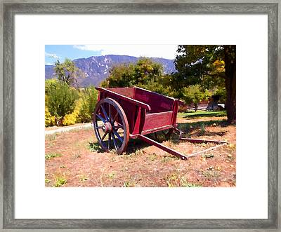 The Old Apple Cart Framed Print by Glenn McCarthy Art and Photography