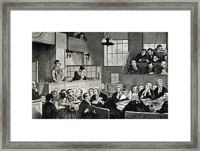 The Old Bailey Framed Print by British Library