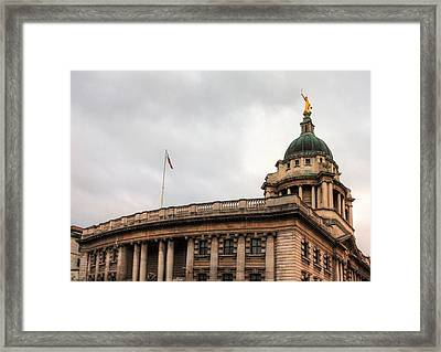 The Old Bailey London Framed Print
