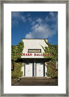 The Old Ballroom Ballroom Of Romance Framed Print