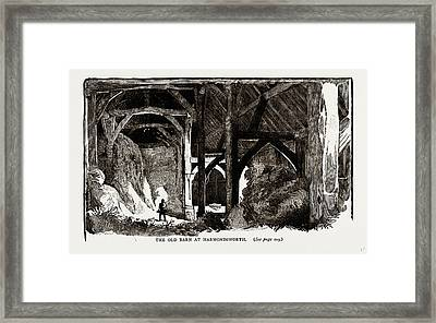 The Old Barn At Harmondsworth, Uk Framed Print